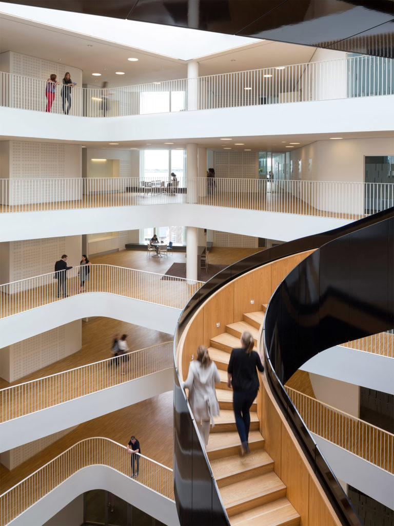 Pleasing Un City The Regional Head Office 3Xn Architects 3Xn Home Interior And Landscaping Ponolsignezvosmurscom